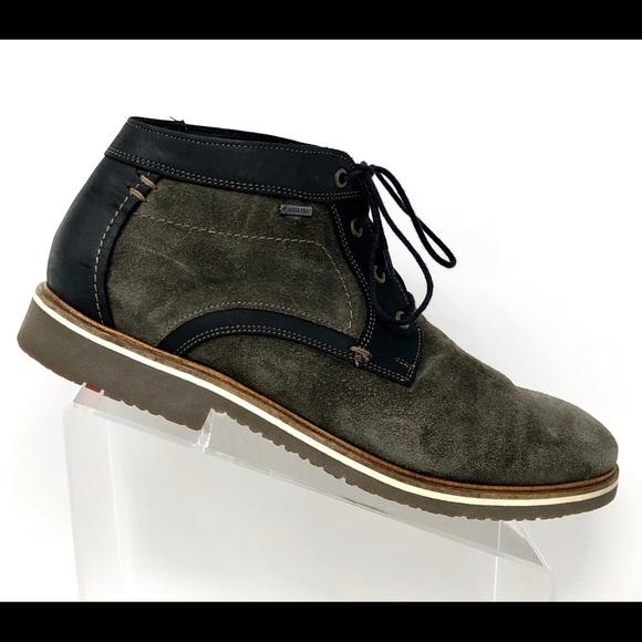 catch store best deals on Lloyd Gore-Tex Waterproof Suede Chukka Boots